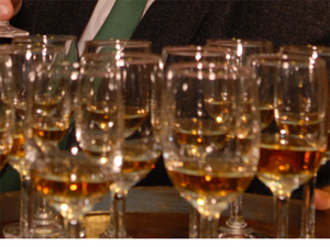Most of that was in bulk, for bottling in India, or blending with Indian whiskies.