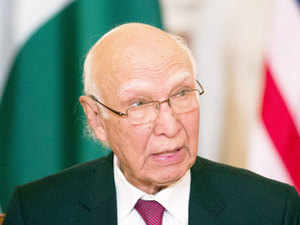 Sartaj Aziz said Pakistan categorically rejects the baseless and irresponsible accusations being levelled by senior officials in Prime Minister Narendra Modi's Government.