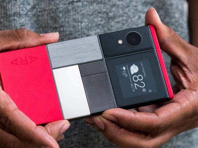Other modular options - Google shelving modular smartphone