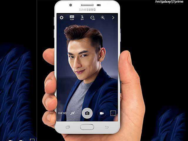 Selfie camera - Samsung Galaxy J7 Prime launched in India at