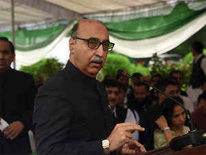 """Foreign secretary Jaishankar called in the high commissioner of Pakistan Abdul Basit (in pic) and reminded him that the Pakistan had committed to not allow territory under its control to be used for terrorism against India,"" the MEA said."