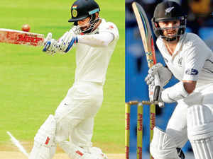 New coach Anil Kumble and young captain Virat Kohli are coming from an easy tour of the West Indies, while the Kiwis had a hard time in a two-match series in South Africa last month.