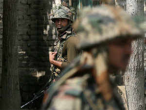 The army said as the forces were conducting the search operation, the hiding militants fired upon them, triggering an encounter.
