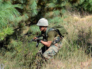 The joint police and army team launched an operation at Banipathar area under Bokajan police station and at around 1 AM the militants exchanged fire with the security forces inside a forest.