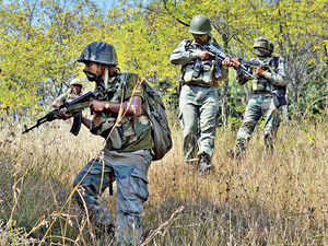 The Uri attacks must help Modi focus on the most important problem at hand, inside Jammu & Kashmir, where the BJP is intimately involved. (In pic:  Operation in Lachipora in Uri against terrorists)