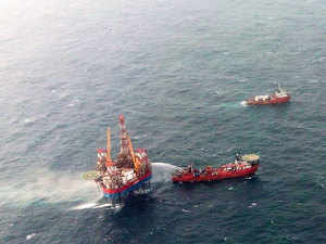 ONGC approved signing of an MoU for taking a stake in Gujarat Petroleum Corp Ltd's (GSPC) difficult gas block.