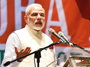 """""""We are proud of our army. People and politicians get opportunities to speak and that's what they do. But the army does not speak. The army displays its bravery,"""" Modi said."""