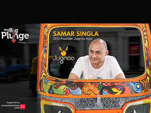 """""""With Jugnoo, we hoped to solve both driver issues as well as commuter problems by giving auto drivers enough rides in the day at fairly calculated rates,"""" says founder of the autorickshaw aggregator app, Samar Singla."""