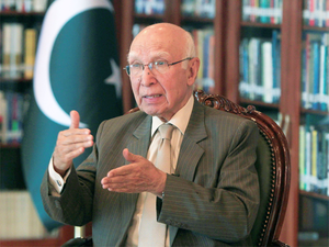 "Pakistan Prime Minister Nawaz Sharif's Adviser on Foreign Affairs Sartaj Aziz has said that, ""If India violates the treaty, Pakistan can approach the International Court of Justice."""