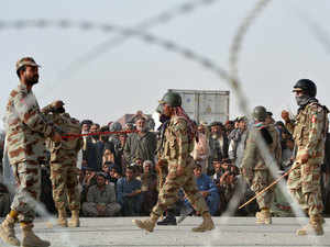 Pakistan army spokesperson Lt. Gen. Asim Saleem Bajwa said on Tuesday there was no need to withdraw or reduce the strength of troops on Pakistan's western border on account of the situation on the eastern front.