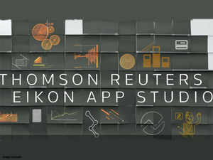 Thomson Reuters has been taking the Eikon App Studio to different countries over the last two years and has about 30 apps live on the platform.