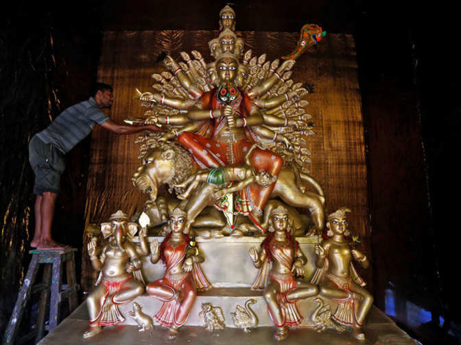 Tbz The Original Jewellers To Craft Crown For Maa Durga