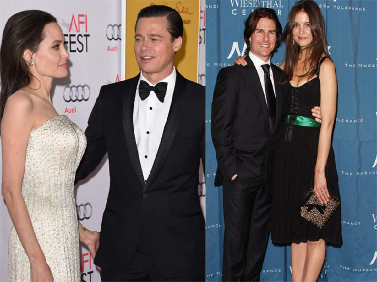 2be1f67b98 From TomKat to Brangelina, relationships that ended up in splitsville