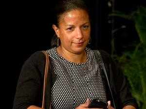 Susan Rice affirmed President (Barack) Obama's commitment to redouble America's efforts to bring to justice the perpetrators of terrorism throughout the world.