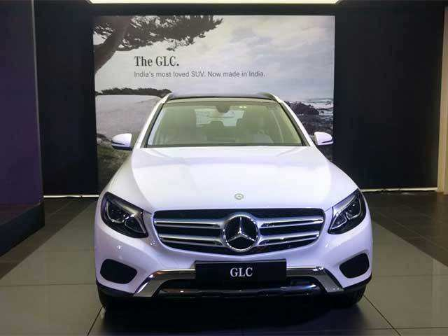 Mercedes Benz Launches U0027Made In Indiau0027 GLC At Rs 47.90 Lakh