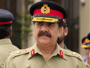 """""""The highest state of vigil is being maintained along the Line of Control, Working Boundary and the international border,"""" General Raheel said."""