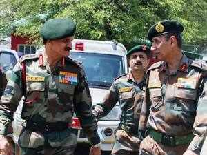 Dalbir Singh is scheduled to visit army's Western Command to review operational preparedness.