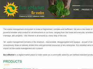 Eco eMarket will function from Bengaluru, and has partnered with NCDEX eMarkets to run the national digital exchange on a revenue sharing basis.