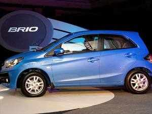 Honda Brings Updated Brio Starting At Rs 4 69 Lakh The Economic Times