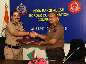 India, Bangladesh discuss militancy, border tension with Pakistan  The BSF and the BGB have already begun work on strengthening the border security.