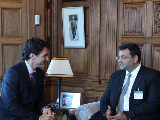 The two met last week & had a lengthy discussion on investments in Canada & Indo-Canadian business partnerships.