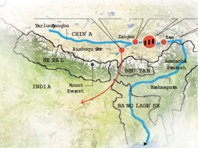 Why India is worried about China\'s dam projects on the Brahmaputra ...