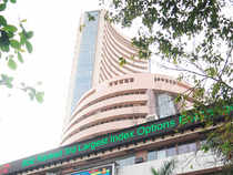 Tata Motors emerged the top gainer in the 30-pack index with a gain of 1.59 per cent at Rs 558.10 while ONGC shed the most, with a 2.56 per cent cut.