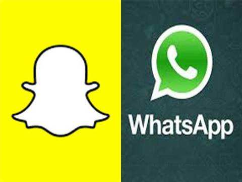 Now, you can 'snap' through WhatsApp - Now, you can 'snap