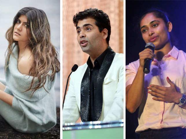 Ananya Birla (L), Karan Johar (C) and Dipa Karmakar are perfect examples of trendsetters.