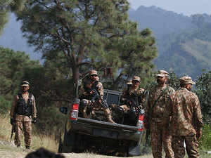 Ghulam Akbar, SP (special branch) of the Mirpur range in POK  is heard stating that the Pakistan army was caught unawares and lost five soldiers