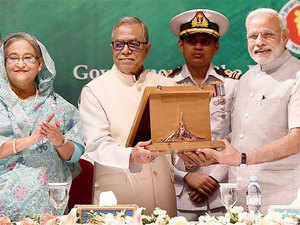India and Bangladesh have agreed on issues like dealing with insurgents by signing an agreement for not allowing their territories for militant camps.
