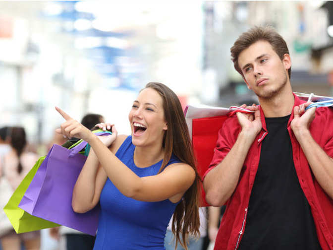 spending behaviour  why women enjoy shopping but most men