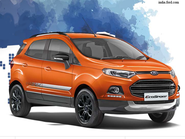 Ford Ecosport Black Signature Edition Launched All You
