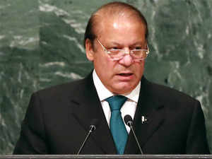 Sharif said Kashmiris were fighting for their right of self-determination and Pakistan would continue to support them.