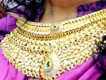 On Monday , Tribhovandas Bhimji Zaveri surged 14.7% to Rs 87.4, PC Jeweller surged 7% to Rs 519.2 and Gitanjali Gems gained 5% to Rs 87.9. Titan Co gained 2% to Rs 404.