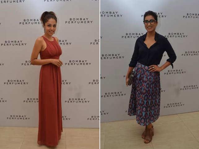 Actress Lekha Washington (L) and Pallavi Shards at the launch.