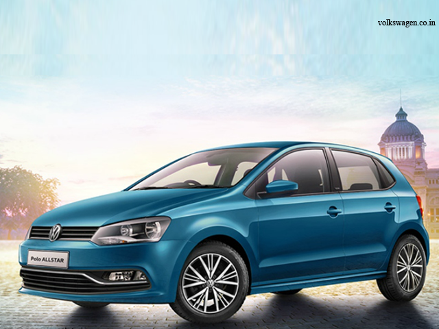 color variants volkswagen polo allstar unveiled in india the economic times. Black Bedroom Furniture Sets. Home Design Ideas