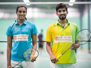 """Mayank Mehta, executive director at Bank of Baroda said, """"Both PV Sindhu and K Srikanth today are household names because of their glorious achievements."""
