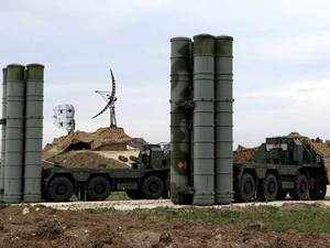 The S-400 is Russia's most modern air defence system and has been deployed to Syria, where Moscow is conducting a bombing campaign in support of long-time ally Syrian President Bashar al-Assad.