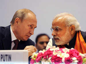 Prime Minister Narendra Modi will impress upon Russian President Vladimir Putin to `reflect on' New Delhi's concerns over Russia's growing military ties with Pakistan.