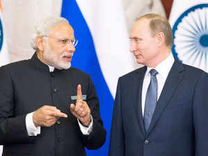 In pic: PM Narendra Modi and Russian President Vladimir Putin  While the two frigates for the Navy will be made in Russia and supplied to India, the remaining two will be made in India bolstering India's military capabilities.