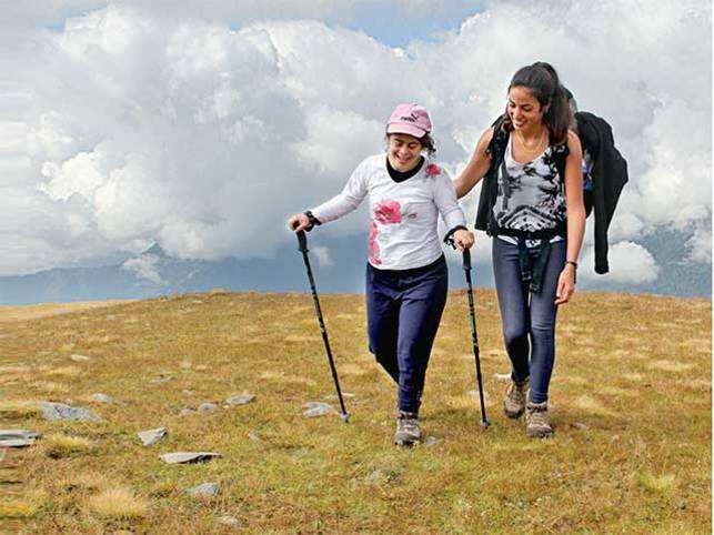 Tzlil Uriel and her sister Shaked Uriel were part of the trek to the Himalayas by 11 Israeli brothers and sisters with their siblings having Down syndrome
