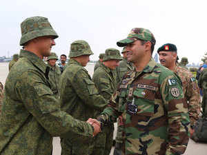 """Sergei Chemezov, CEO of Rostech State Corporation, an umbrella organisation of 700 hi-tech civilian and military firms, asserted that the military exercise does not show a """"significant"""" change in his country's relations with Pakistan."""