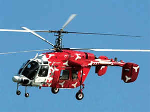 The supply of helicopters will begin from 2017.