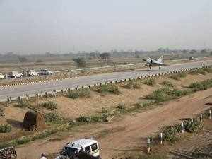 According to an official, a committee comprising officials of both ministries has been constituted to come out with specifications of such highway stretches which can double up as airstrips.