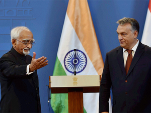 Ansari expressed India's appreciation for the support extended by Hungary to India's membership of the Missile Technology Control Regime and for the entry into the Nuclear Suppliers Group.