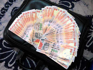 A fall in the rupee should make Indian goods more competitive in the global market.
