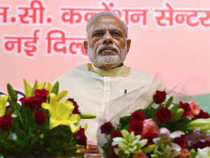 """""""I have requested the state governments that 4 per cent should be procured from goods manufactured by Dalits to encourage them,"""" Modi said."""