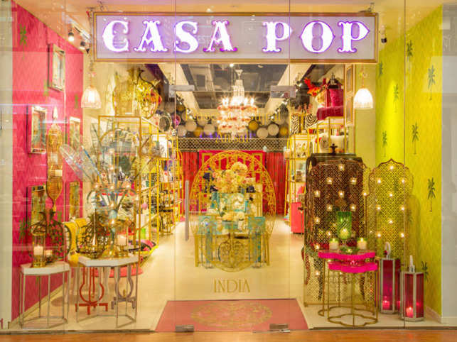 Colourful wall art, apparel, jewellery, tableware and soft furnishings adorn this store in Select Citywalk mall.