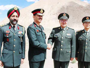 The Indian Army said the exercise was held in the area of the Border Personnel Meeting Hut at Chushul Garrison of Eastern Ladakh with the Chinese troops of Moldo Garrison.